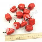 Перец красный   100 штук. 4 см