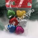 Новогоднее украшение «Сердце микс»