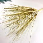 Берграс золотой украшение для праздников свадеб и новогодних композиций