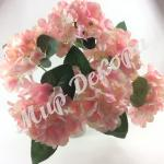 Букет гортензии нежно розовый