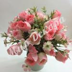 Букет из розы в бутонах. Нежно розовый.