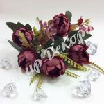 Букет розы пионовидной . Марсал