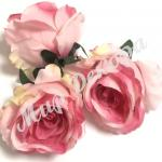 Голова розы, 10 шт. нежно-розовый