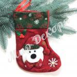 Новогодние носки для подарков купить оптом все для новогоднего декора все для флористов и декораторов.