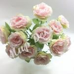 Букет роз 12 голов . Нежно розовый