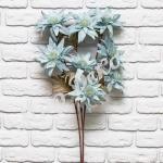 Цветок декоративный . Голубой