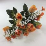 Букет из розы в бутонах. Оранжевый.