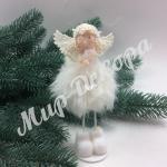 Ангел белый с кристаллом.