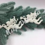 Новогоднее украшение «Ангелы»