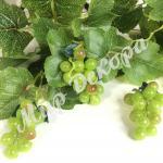 Виноград мелкий 7 см, 12 шт. Зеленый.