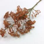 Ветка декоративная. Красно коричневая