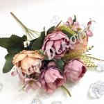 Букет розы пионовидной . Лиловый