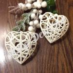 Новогоднее украшение « Сердце «