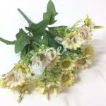 Букет мелких хризантем. Желтый