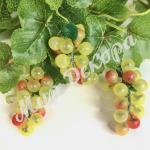 Виноград мелкий 7 см, 12 шт . Желтый