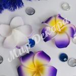 Цветок гаваи, 9 см . Фиолетовый