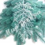 Лист коралла белый. 10 см