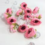 Головы ранункулюса 4 см. 12 штук. Чайная роза.