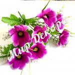 Букет космеи  искусственные цветы декор для свадьбы
