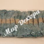 Шнур хлопчатобумажный нежно-голубой купить в Украине