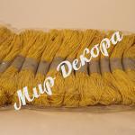 Шнур хлопчатобумажный желтый купить в Украине