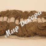 Шнур хлопчатобумажный светло-коричневый купить в Украине