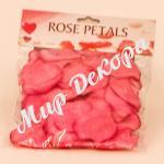 Лепестки роз (темно-розовые)