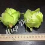 Голова розы . Салатовая.
