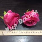 Голова розы. Ярко розовый.