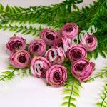 Голова ранункулюса 4 см , 12 штук. чайная роза.
