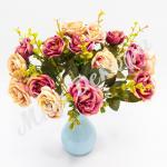 Букет роз, лиловый-шампань