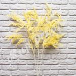 Ветка декоративная, желтый