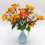 Куст с ягодами, оранжевый