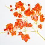 Ветка осенняя 12 шт. оранжевая