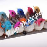 Птицы цветные 12 шт.