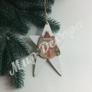 Новогоднее украшение «Сова»