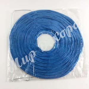 Китайский фонарик 30 см. Голубой.