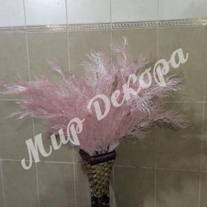 Ветка декоративная. Розовая