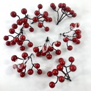 Гроздь ягод  красных. 25штук