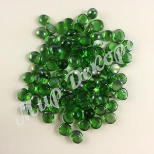 Камни стекло . Зеленые.