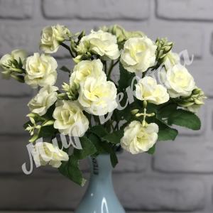 Букет роз мелких. Белый.