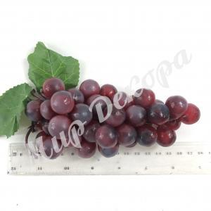 Гроздь винограда. Красный 16 см