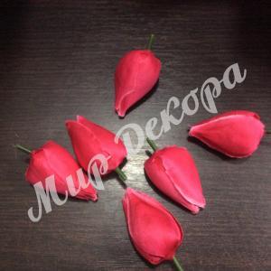 Голова тюльпана малиновая. 12 шт.