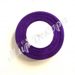 Лента из органзы 2,5 см. Фиолетовая .
