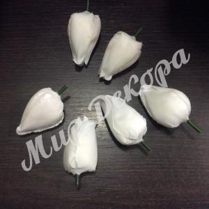 Голова тюльпана белая. 12 шт.