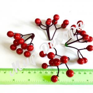 Как сделать искусственные ягоды своими руками