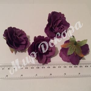 "Роза "" Прованс "" 5 см . Фиолетовая 12 шт."