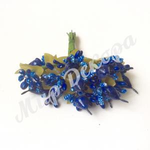 Тычинка с грушей синяя. 144 шт.