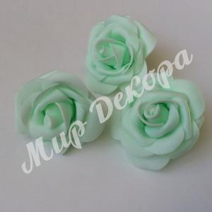 Голова розы латексной 8 см. 12 шт.