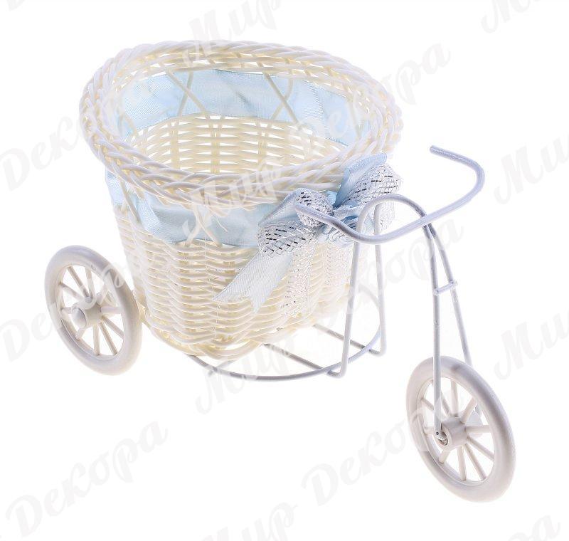 Купить кашпо-велосипед для цветов